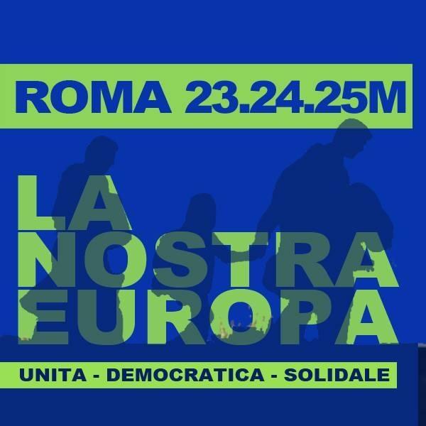"""23 24 25 marzo mobilitazioni a Roma contro le celebrazioni per i 60 anni della firma dei """"Trattati di Roma"""""""