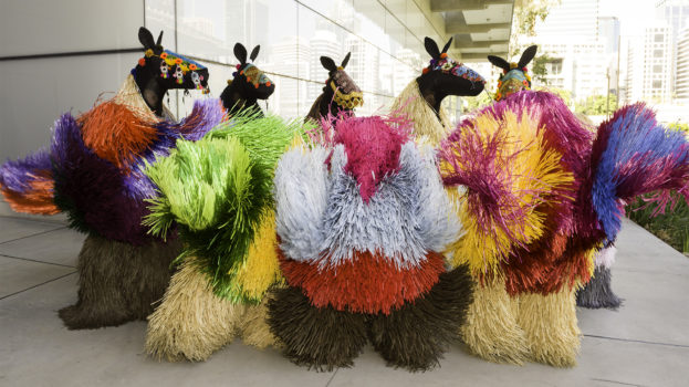 """Sugar Spin: you, me, art and everything Nick Cave's """"Heard"""" in front of GOMA"""