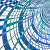 Network Geometric Pattern Futuristic Contemporary
