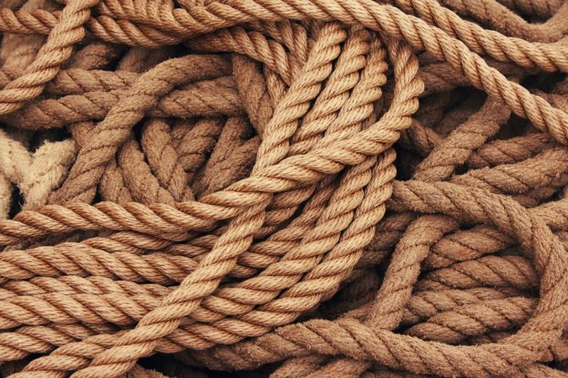 Knitting Ship Traffic Jams Dew Rope Cordage Strand