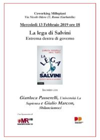 """""""La Lega di Salvini. Estrema destra di governo"""""""