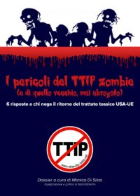I pericoli del TTIP zombie