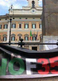 """Lega presenta Mozione a favore dei caccia, la Campagna NOF35: """"Il Parlamento invece cancelli questo dannoso progetto"""""""