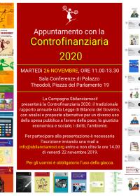 Appuntamento con la Controfinanziaria 2020