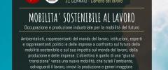Mobilità sostenibile al lavoro. Un convegno a Torino