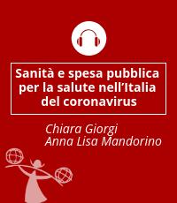 Sanità e spesa pubblica per la salute nell'Italia del Coronavirus