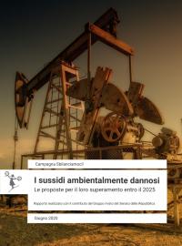 rapporto sui sussidi ambientalmente dannosi