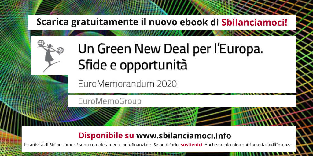 Un Green New Deal per l'Europa