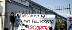 Italians urged to boycott Amazon to support day of strikes