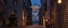 Roma, la capitale vuota