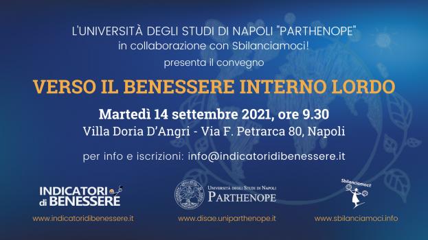 14 settembre a Napoli VERSO IL BENESSERE INTERNO LORDO Università Parthenope con Sbilanciamoci! www.indicatoridibenessere.it (2)